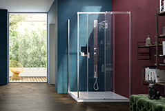 Shower cubicles Serie 8000