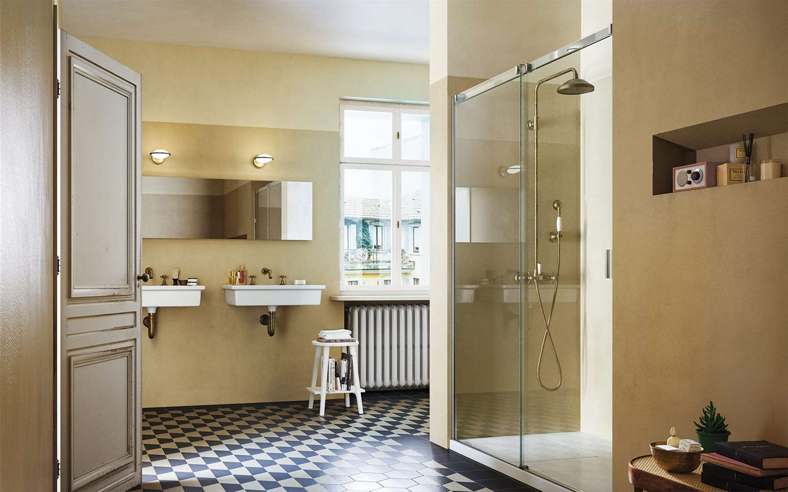 Serie 8000 | The sliding shower enclosure, synthesis of experience