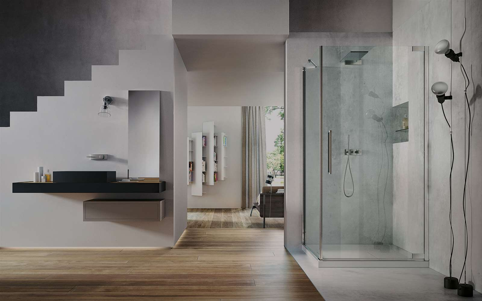 Flare | The pivot door shower enclosure