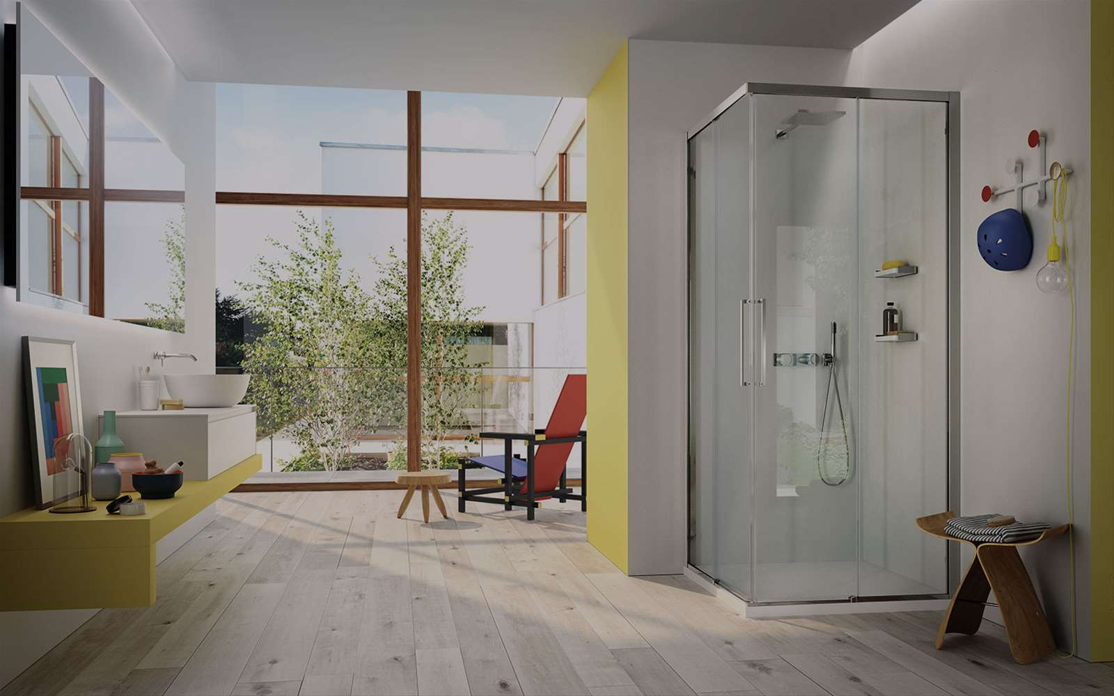 Serie 7000 | La cabina doccia scorrevole in 6 mm con profili ridotti