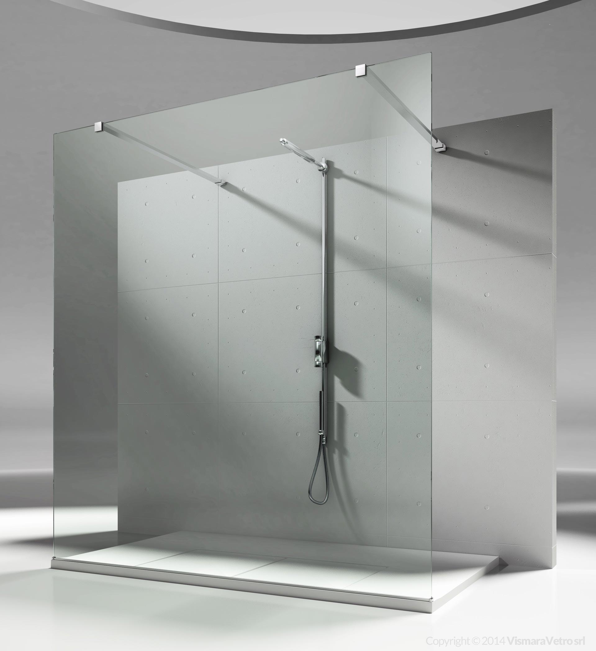 sb : sk-in modelli cabine doccia con fisso divisorio (walk in)