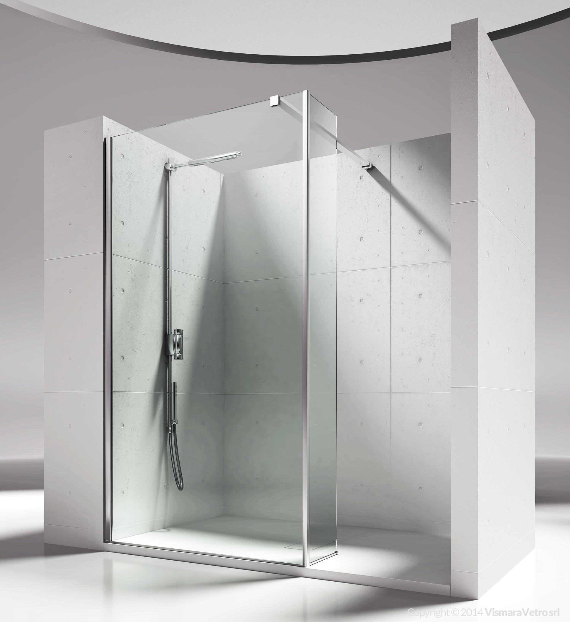 Modello sk sz installazione in nicchia - Box bagno esterno ...