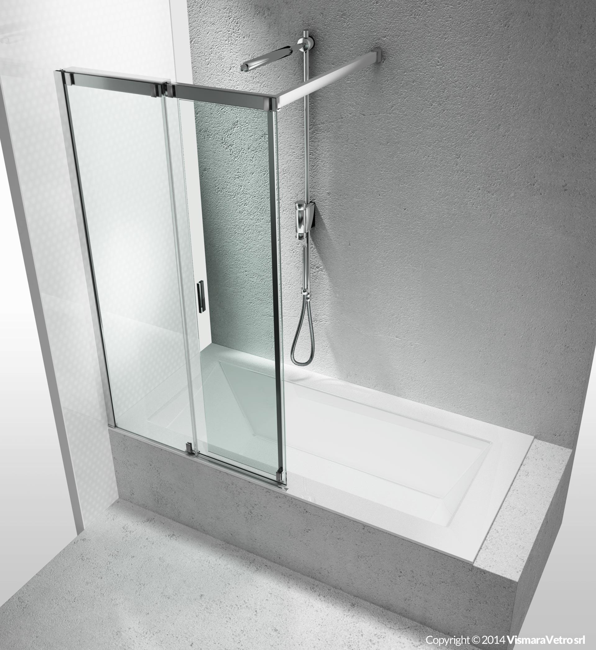 Solutions pour baignoires vr ouverture coulissante - Mondial box doccia ...