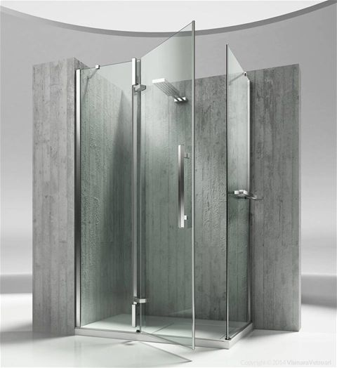 Shower enclosuresTiquadro | QA+QF