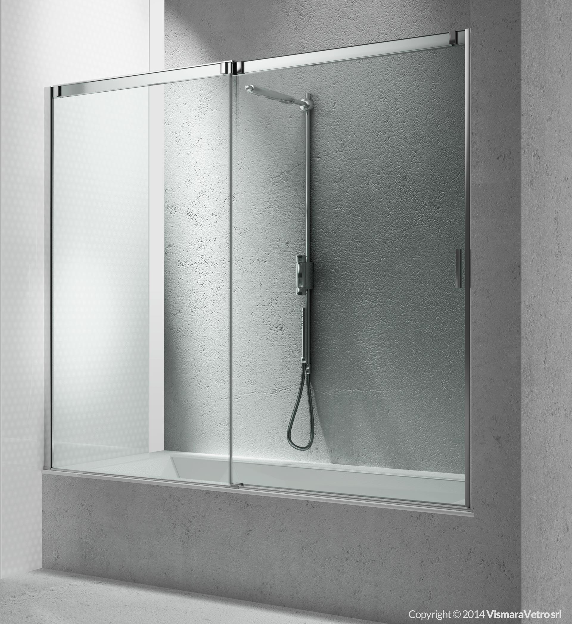 Vasche bn apertura scorrevole - Vasca da bagno in vetro ...