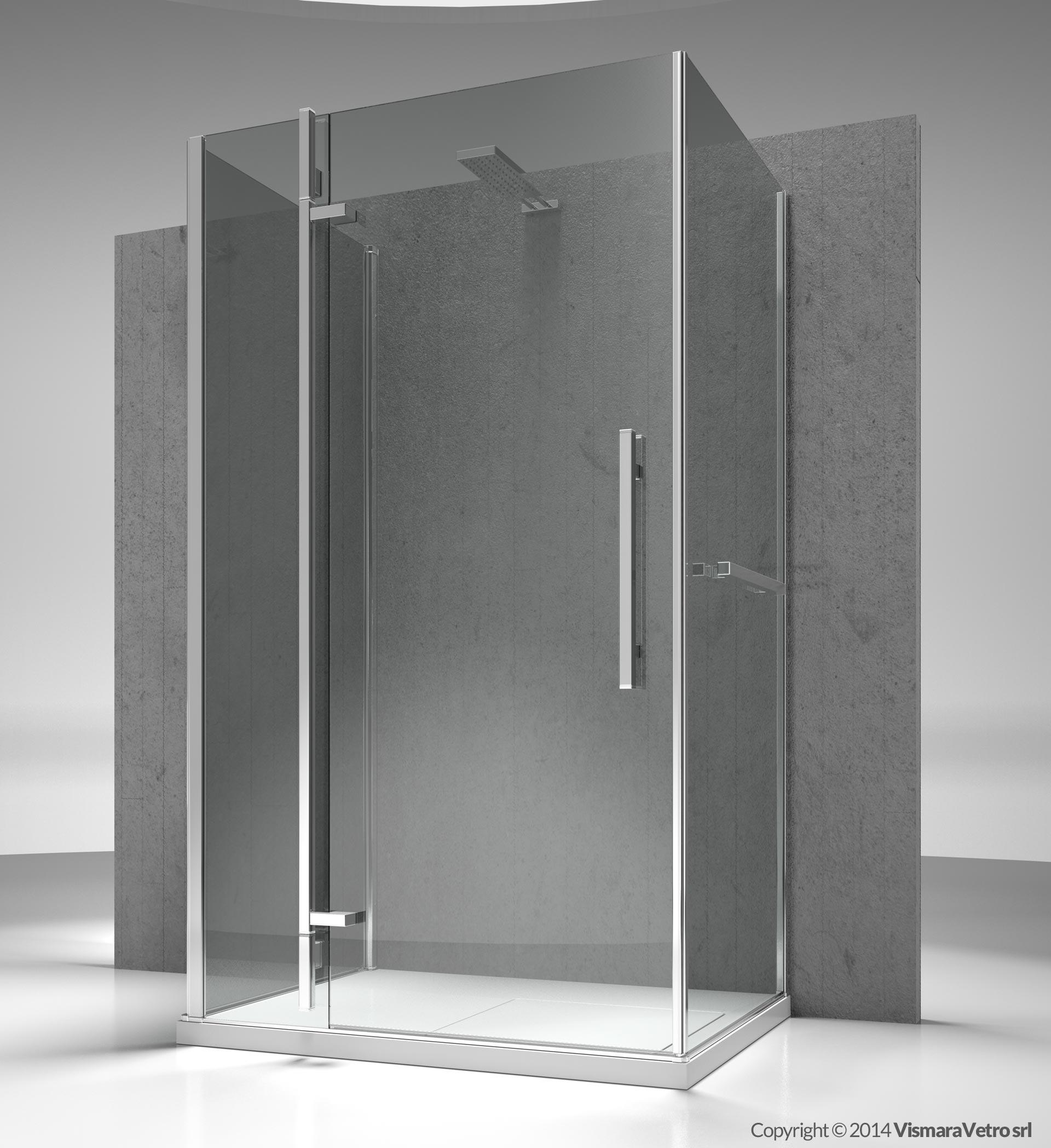 Modelo qf qa qg instalaci n contra pared Instalacion cabina ducha