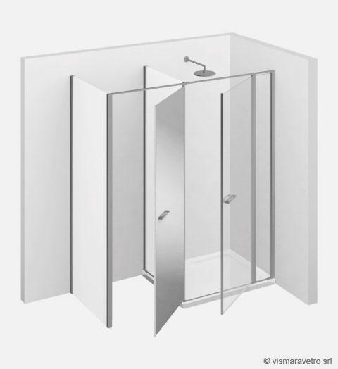 Shower enclosuresTwin | T42