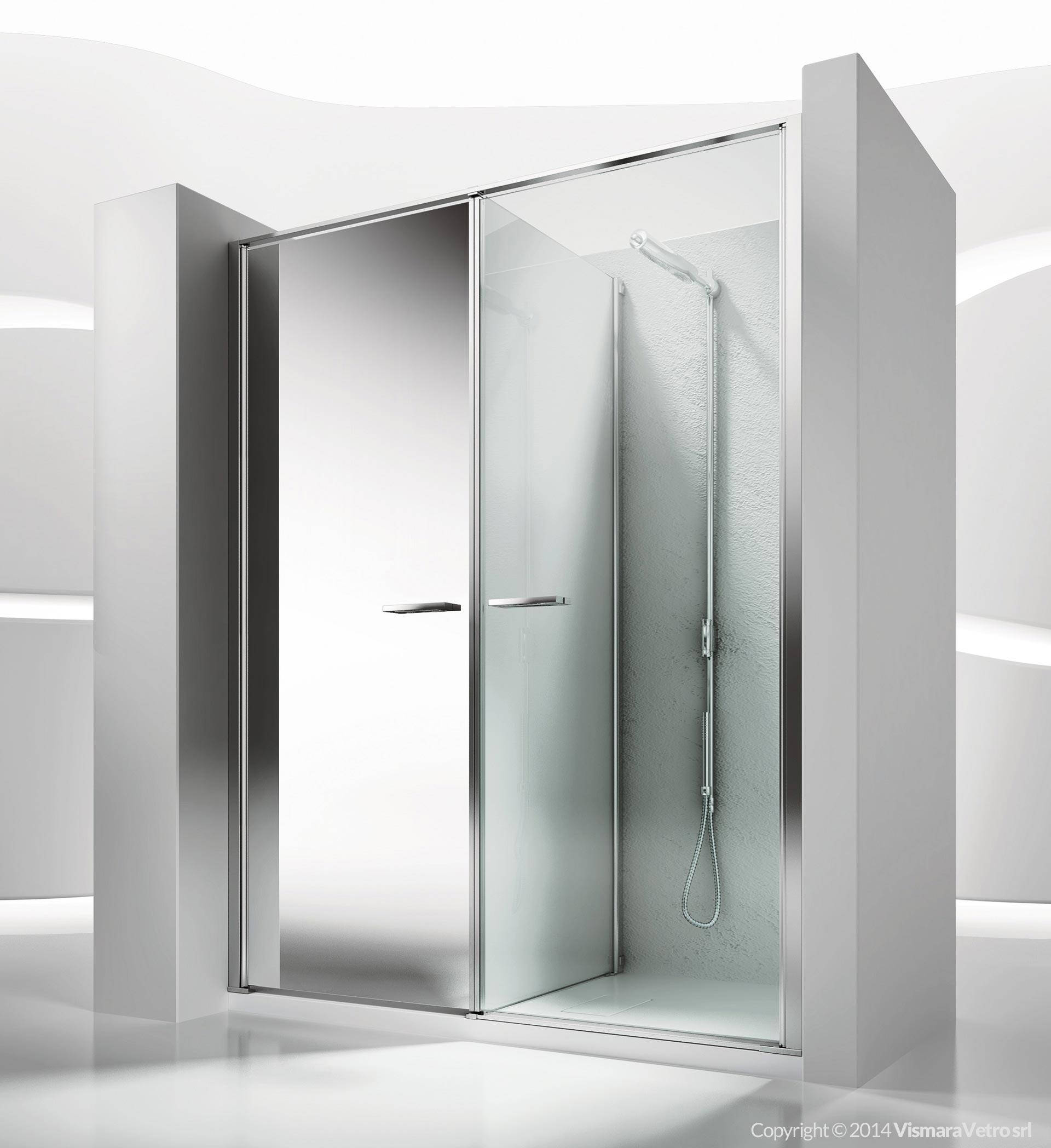 Modello w11 installazione in nicchia - Costruire box doccia ...