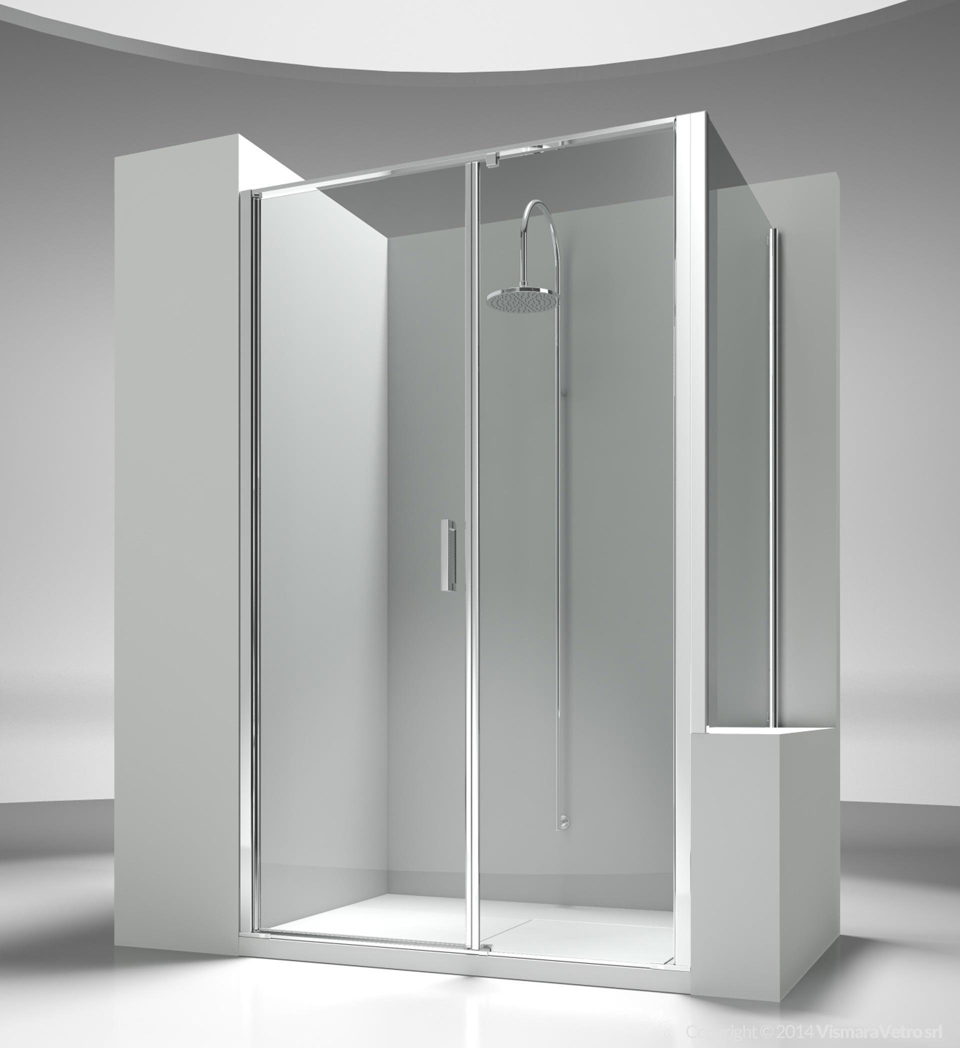 l2 lp linea cabine de douche pour salle de bains avec ouverture pivotante. Black Bedroom Furniture Sets. Home Design Ideas