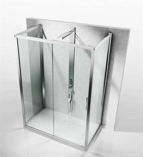 Shower enclosures6000 Series | 6300+6100+6300