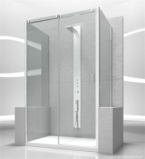 Shower enclosuresSlide | VP+VN+VP