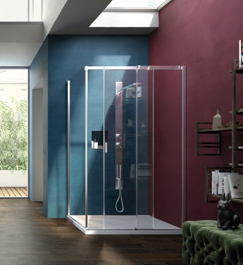 Shower enclosuresSerie 8000 | CQ+CF