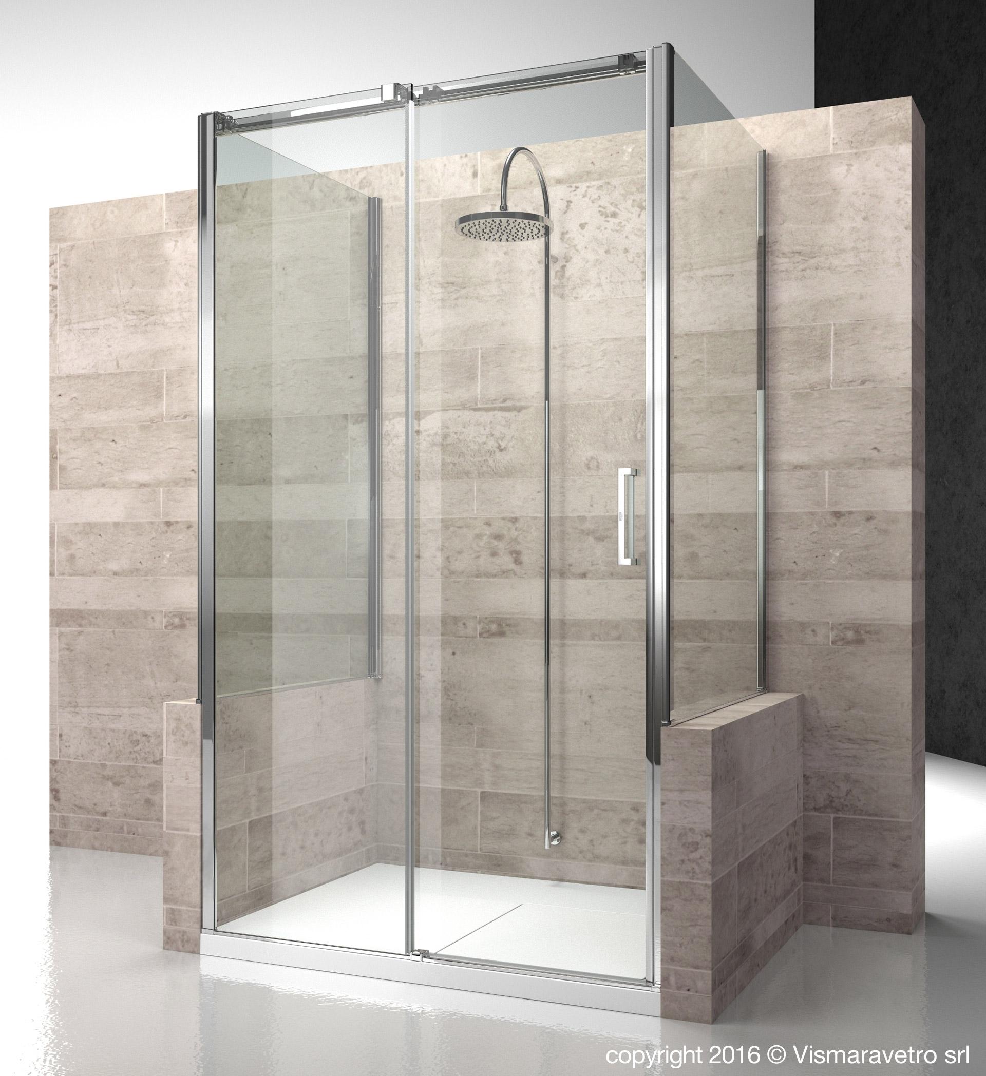 Doccia Con Muretto: Cabine doccia.