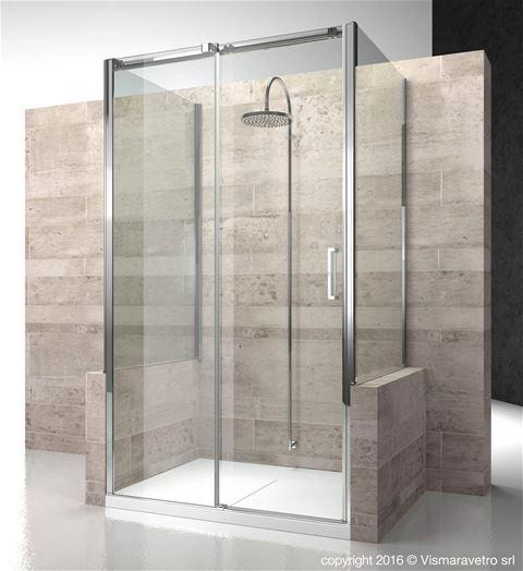 Shower enclosuresGliss | DP+DN+DP