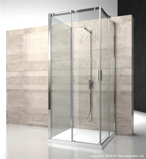 Shower enclosuresSerie 8000 | CA+CA+CG