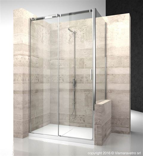 Shower enclosuresSerie 8000 | CN+CP