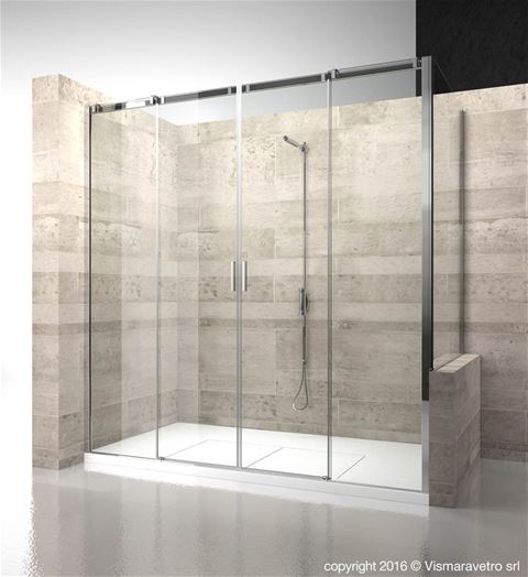 Shower enclosuresSerie 8000 | C4+CP