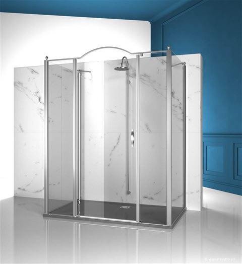 Shower enclosuresGold | GLG+GLM+GLG