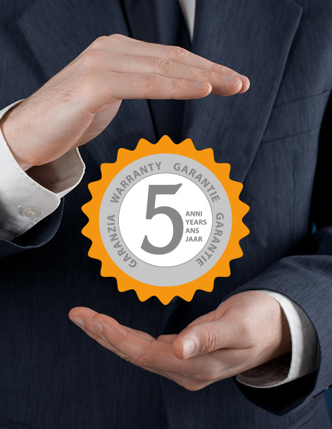 WITH VISMARAVETRO, YOU HAVE A 5-YEAR FREE WARRANTY