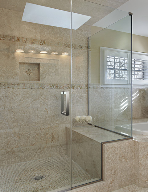 THE CUSTOMISED SHOWER UNIT