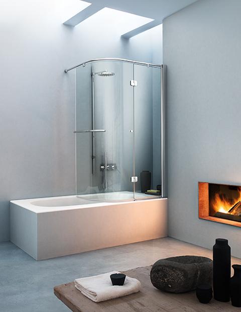 Pareti per vasche vismaravetro cabine doccia vismaravetro - Pareti vasca da bagno prezzi ...