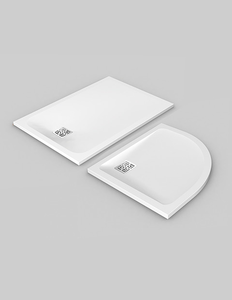 NEW VISMARAVETRO SHOWER TRAYS