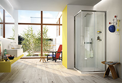 serie 7000 is a collection of sliding shower cabins   that represents the synthesis of the experience gained...