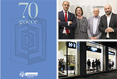 THE FESTIVITIES FOR OUR FIRST 70 YEARS
