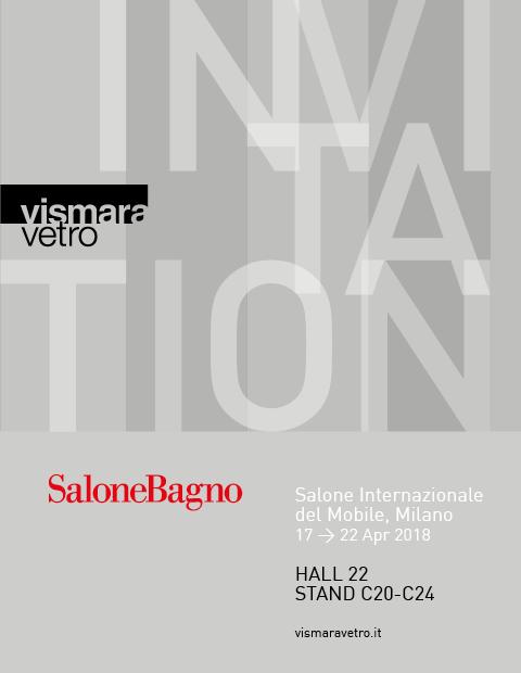 INVITATION @ SALONE BAGNO 2018