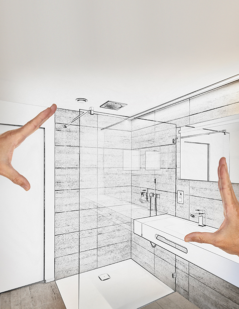 FIND YOUR SHOWER ENCLOSURE WITH A CLICK