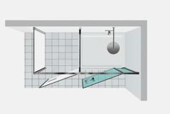 Shower enclosures vismaravetro Twin T42