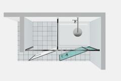 Shower enclosures vismaravetro Twin T41