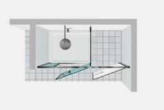 Shower enclosures vismaravetro Twin T40