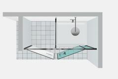 Shower enclosures vismaravetro Twin W41